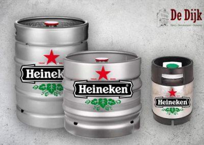 Heineken Bier – 10, 30 of 50 liter