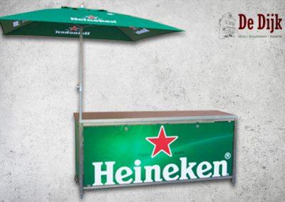 Heineken Bartafel met parasol