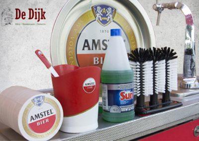 Standaard uitrusting biertap Amstel / gratis