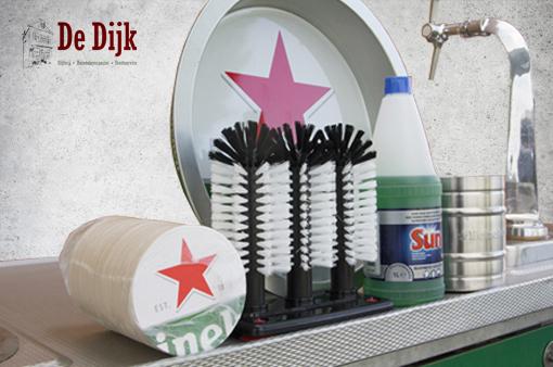 Standaard uitrusting biertap Heineken / gratis