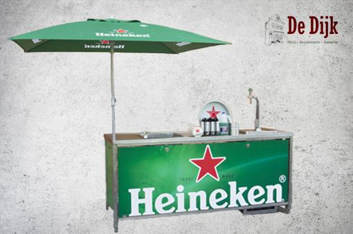 Biertap + ombouw Heineken