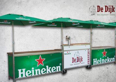 Evenementenset-biertap + 2 klaptoonbanken Heineken