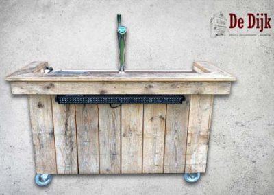 Biertap –  Steigerhout